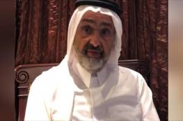 الشيخ عبد الله آل ثاني يغادر أبوظبي متوجها إلى الكويت