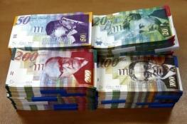 أسعار العملات .. الدولار مقابل الشيكل يواصل الهبوط السريع