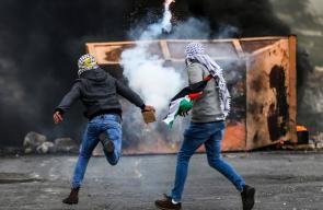 مواجهات في الضفة الغربية خلال احياء فعاليات يوم الأرض