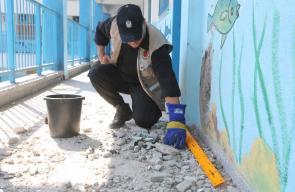 الاحتلال يستهدف مدرسة للأونروا بمخيم الشاطئ غرب غزة