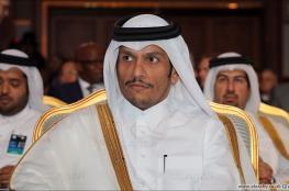 وزير خارجية  قطر ينفي تصريح منسوب