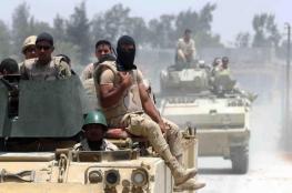قتلى وجرحى في هجمات متزامنة على الجيش المصري شمال سيناء