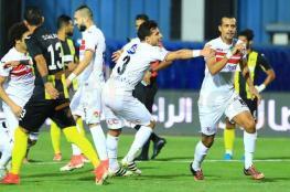 بهدف الثانية الأخيرة.. الزمالك يجتاز دجلة في الدوري المصري