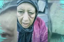 مشاهد مؤثرة لأم طردها ابنها للشارع