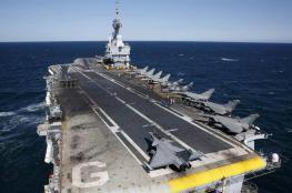 مناورات عسكرية بحرية قطرية فرنسية