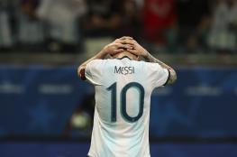 بعد هزيمة الأرجنتين.. ميسي: الأمر يحتاج لبعض الوقت