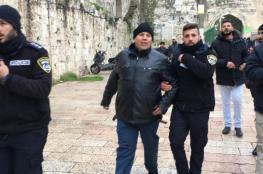 الاحتلال يعتقل 5 من حراس المسجد الأقصى فور خروجهما منه