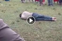 ضربوه حتى الموت.. هذا ما فعله هندوس بشاب مسلم في الهند على مرأى رجال الشرطة !