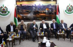 الفصائل تلتقي وفد لجنة الانتخابات بغزة