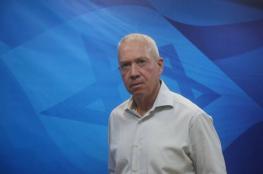 """""""غالانت"""" يرد على """"غانتس"""": حرب غزة الأخيرة لم تحقق أهدافها"""