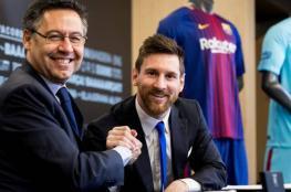 رئيس برشلونة يحضر مفاجأة صادمة لميسي في اجتماع مرتقب