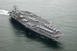 واشنطن ترسل حاملة طائرات ثالثة لسواحل كوريا الشمالية