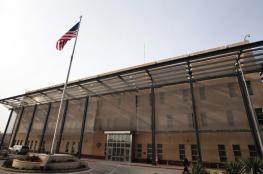 طائرة مسيرة تتسبب في وقف مؤقت لعمل السفارة الأمريكية في بغداد