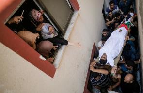 تشييع جثمان الشهيد كريم كُلاب بغزة