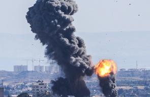 طائرات الاحتلال تشن سلسة غارات على قطاع غزة