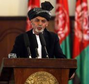 محمد أشرف عبد الغني الرئيس الأفغاني