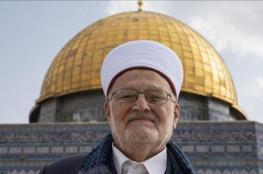 الشيخ صبري يطالب بشد الرحال إلى الأقصى الخميس القادم