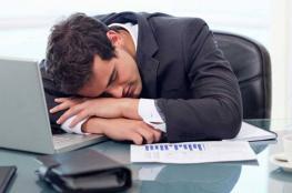 دراسة: قلة النوم والإجهاد في العمل يؤديان للموت المبكر