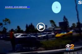 فيديو مرعب لحادثة سقوط طائرة في كاليفورنيا على موقف سيارات