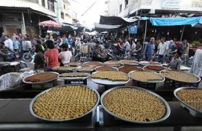 أسواق معرة النعمان في إدلب السورية خلال شهر رمضان المبارك