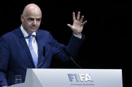 """""""الأسطورة"""".. لقب جديد من رئيس """"الفيفا"""" للاعب جزائري"""
