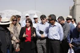 وفد دبلوماسي أجنبي يزور مستوطنات غلاف غزة