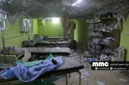 بعد مجزرة الكيماوي.. طائرات الأسد تقصف مشفى ومركز للدفاع المدني في خان شيخون
