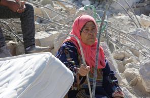 جرافات الاحتلال تهدم منزلين في قرية شقبا غرب رام الله
