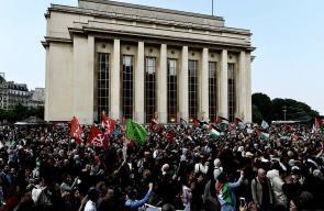مظاهرات لليوم الثاني في باريس رفضا لمجازر الاحتلال في غزة