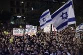 """تظاهرة امام منزل نتنياهو احتجاجاً على """"الإرهاب اليهودي"""""""