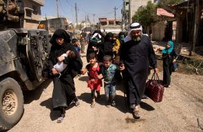 توقعات أممية باستمرار النزوح من الموصل