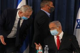 غانتس يهدّد بتمرير قانون لإسقاط حكومة نتنياهو