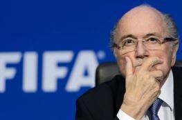 بلاتر يكشف سر غضب رئيس ريال مدريد الشديد بسبب رونالدو وميسي