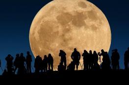 لآخر مرة في 2017.. القمر العملاق يظهر في سماء فلسطين الليلة