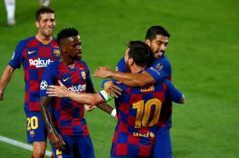 """برشلونة يتخطى نابولي ويبلغ ربع نهائي """"الشامبيونزليغ"""""""