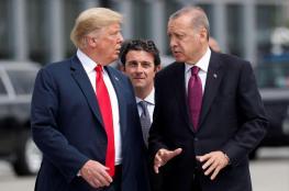 أردوغان وترامب يبحثان هاتفيا إقامة منطقة آمنة شمالي سوريا