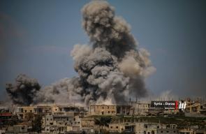 تواصل الغارات الجوية من طائرات الأسد على أحياء #درعا