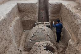 """اكتشاف """"هرم مصري"""".. في الصين"""