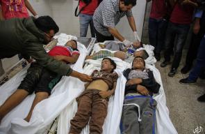 8 شهداء .. مجزرة اسرائيلية بحق عائلة السواركة وسط القطاع