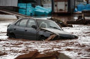 مصرع 13 شخص جراء الفيضانات الناجمة عن هطول أمطار غزيرة في العاصمة اليونانية أثينا