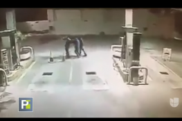 كلب يمنع سرقة قرب محطة وقود في المكسيك