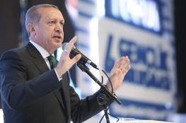"""أردوغان يحذر من محاولات تقسيم المنطقة عبر """"الإرهاب"""""""
