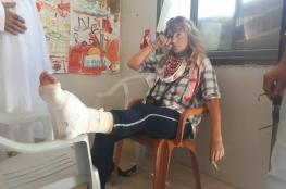 'We don't shoot women'.. But Kristin Foss is shot for second time in a week in Palestine