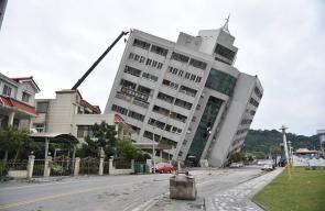 زلزال يضرب شرق جزيرة تايوان