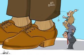 كاريكاتير د. علاء اللقطة_ رائد صلاح