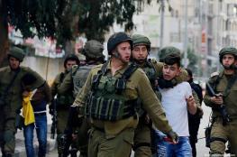 قوات الاحتلال تعتقل 5 مواطنين من الخليل وبيت لحم