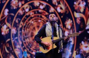 عرض غنائي للفنان حمزة نمرة ضمن فعاليات مهرجان