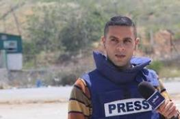 Israeli occupation security detains another Palestinian journalist