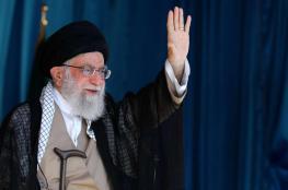 """خامنئي يلوم الأعداء على """"أعمال التخريب"""" التي تشهدها إيران"""