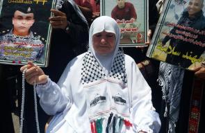 فعاليات التضامن في جنين مع الأسرى المضربين عن الطعام بسجون الاحتلال